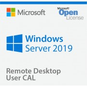 Microsoft Windows Remote Desktop Services 2019 User CAL RDS CAL Client Access License 1 CAL