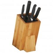 Stojak na noże / blok do noży uniwersalny BAMBUS