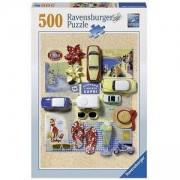 Пъзел Ravensburger 500 елемента, Колаж Италианско лято, 701103
