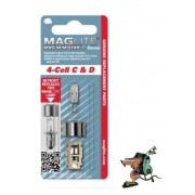 Maglite Magnum Star Xenon lamp for 4 cell