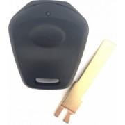 Carcasa cheie compatibil Porsche 1 buton lamela separata negru