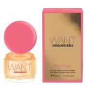 DSQUARED2 Want Pink Ginger Pour Femme Eau de Parfum Spray 100ml за жени