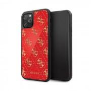 "Capa Iphone 11 Pro 5.8"" GUESS Double Glitter Vermelho em Blister"
