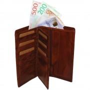 Plånbok VINTAGE HERR Cognac