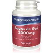 Simply Supplements Bayas de Goji - 360 Comprimidos