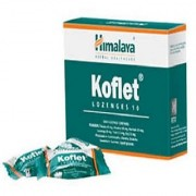 Himalaya Koflet Lozenges (10TAB) (PACK OF 8)