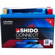 Shido Motorradbatterie Shido Lithium Motorradbatterie Connect LTX20Q, 12V, 7Ah (YTX15/YTX20