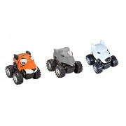 Wild Republic Mini Motor Heads Zoo Vehicle (3 Pack)