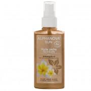 Alphanova Huile sèche scintillante bio - Visage Corps Cheveux - Spray 125ml