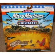 Micro Machines World War I #17 Military Collection