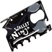 BISMAADH Ninja Card (18 In 1) Pack of 4 Multi-utility Knife(Black)