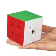 6 colors Assembled DaYan 5 Zhanchi three-dimensional puzzle 3 x 3 x 3 cube speed 55mm (japan import)