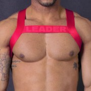 Leader Barcelona X Back Bar Harness Red