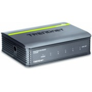 Switch Trendnet Fast Ethernet Mini TE100-S5, 10/100Mbps, 1Gbit/s, 5 Puertos – No Administrable