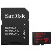 Card de memorie SanDisk Ultra MicroSDXC, 128GB + Adaptor
