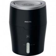 Umidificator de aer Philips HU4813/10 Tehnologie NanoCloud Rezervor 2l Acoperire 44mp Umidificare 300 ml/h Led Negru