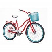 Bicicleta Mercurio CRUISER Dim R26 1v Rojo/Azul 2018