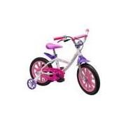 Bicicleta Infantil Feminina Aro 14 Freio a Disco Nathor