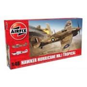 Kit Constructie Airfix Avion Hawker Hurricane Mk.I Tropical