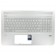 HP Laptop Toetsenbord Qwerty US + Top Cover voor Vingerafdruk sensor modellen