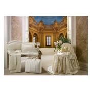 BabyPiu Постельное белье BabyPiu Шелковые эмоции - комплект для люльки/коляски: 2 простыни + наволочка