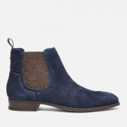 Ted Baker Men's Travics Suede Chelsea Boots - Dark Blue - UK 8 - Blue