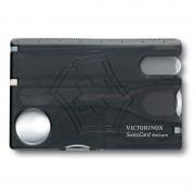 Card multifunctional Victorinox SwissCard Nailcare, negru