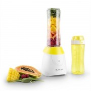 Klarstein Paradise City mixer smoothie maker 300W flaska BPA-fri 2x bägare