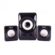 approx! APPSP21M Altavoces 2.1 10W Negros