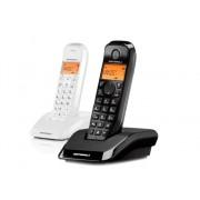 Motorola Teléfono Inalámbrico MOTOROLA S1202 Blanco y Negro