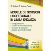 Modele de scrisori profesionale in limba engleza