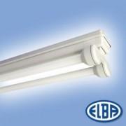 Por és páramentes lámpa FIPA 04 SURF 2x18W HF-P elektronikus előtéttel IP65 Elba