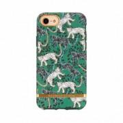 Richmond & Finch Richmond et verdier Leopard Coque iPhone 6 6s 7 8 cas - Leopard vert