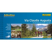 Fietsgids Bikeline Via Claudia Augusta   Esterbauer