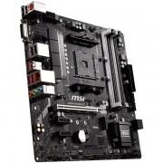 Matična ploča MSI B450M BAZOOKA V2 SAM4, 4xDDR4, 1xPCI-Ex16, 2xPCI-Ex1, USB3.1, USB2.0, 4xSATA III, 1xM.2, 7.1Audio, DVI-D, HDMI, GLAN mATX Retail