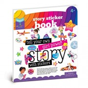 Craft-tastic Jr - Girl Power Story Sticker Book - Inspire Girls to Tell Their Stories with Reusable Stickers