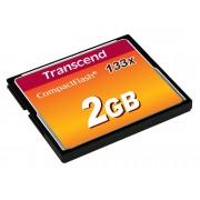 Transcend Tarjeta de memoria TRANSCEND Compact Flash TS2GCF133 2 GB