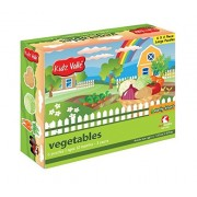 Kidz Valle Vegetable Puzzle 6 X 2 Pieces 12 Months - 3 Years ( Puzzles for Kids, Floor Puzzles )