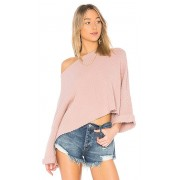 Free People I Can't Wait Sweater in Rose. - size S (also in L,M,XS)