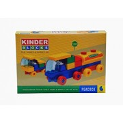 Peacock Kinder Blocks-Car-Tanker and Dumper Set