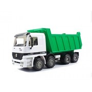 Alibuy Large Friction Dump Truck Construction Toys,Push and Go Play Vehicles Trucks for Kids Children