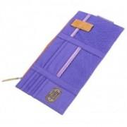 ShopAis Car Sun Visor Point Pocket Documents Organizer Pouch Hanging Bag(Blue)