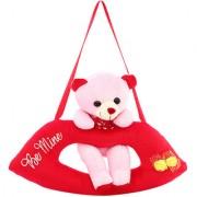 DealBindaas Lip Cute Bear Valentine Stuff Teddy Pink