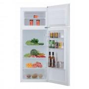 Frigider cu 2 usi Candy CDD 2145 E, Static, 204 L, Control mecanic, Iluminare interioara LED, Sertar fructe/legume, H 143 cm, Clasa A+, Alb