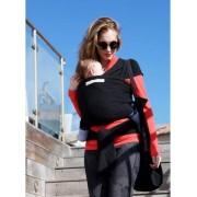 je porte mon bébé Echarpe Basic JPMBB Presque Noire