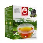 Capsule ceai wellness TIZIANO BONINI, compatibile DOLCE GUSTO, 10 buc.