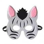 PKRISD Máscara de Ojos de Animales de la Selva, para niños, para Fiestas de cumpleaños, Cosplay, Disfraces de Halloween, 1