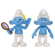 Smurfs Movie Basic Figure Pack Wave #2 Vanity Smurf And Grouchy Smurf