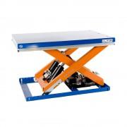 Kompakt-Hubtisch Tragfähigkeit 2000 kg Plattform LxB 1300 x 800 mm, Nutzhub 820 mm