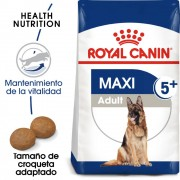 15kg Maxi Adult 5+ Royal Canin pienso para perros